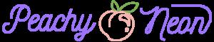 Peachy Neon Logo